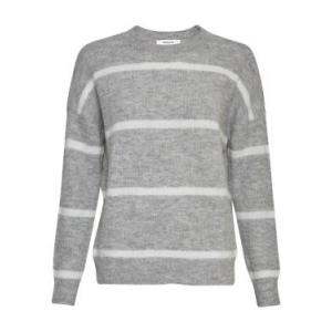 Femme Alpaca Stripe Pullover logo
